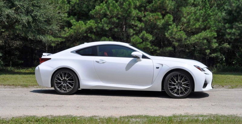2015 Lexus RC-F Ultra White Premium Package 4