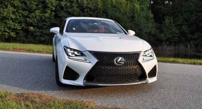 2015 Lexus RC-F Ultra White Premium Package 43