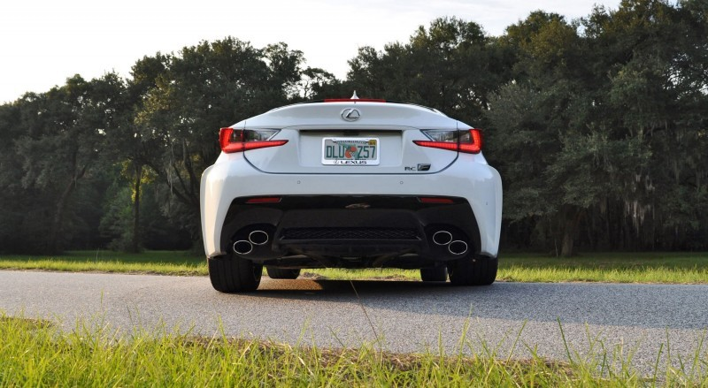 2015 Lexus RC-F Ultra White Premium Package 46