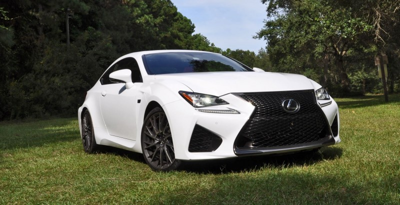 2015 Lexus RC-F Ultra White Premium Package 66
