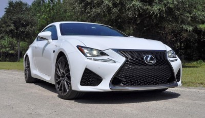 2015 Lexus RC-F Ultra White Premium Package 7