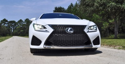 2015 Lexus RC-F Ultra White Premium Package 8
