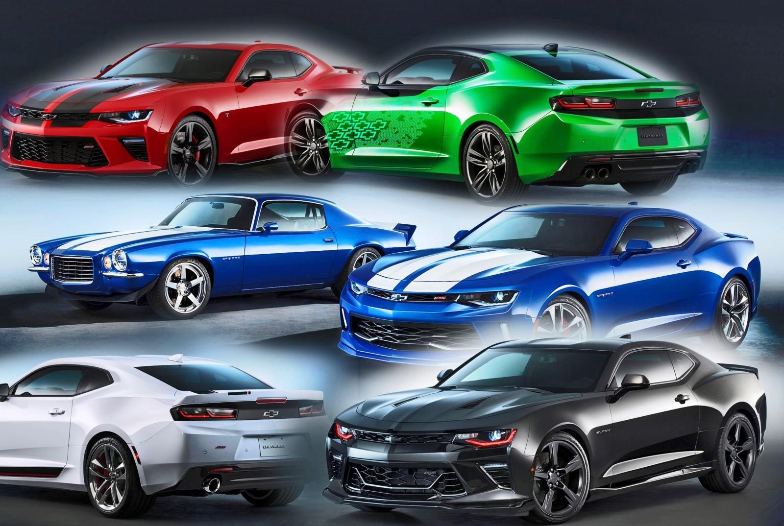 2016 Chevrolet Camaro Colors