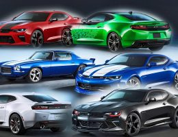 2016 Chevrolet Camaro – SEMA Concepts Recap + Colors Visualizer