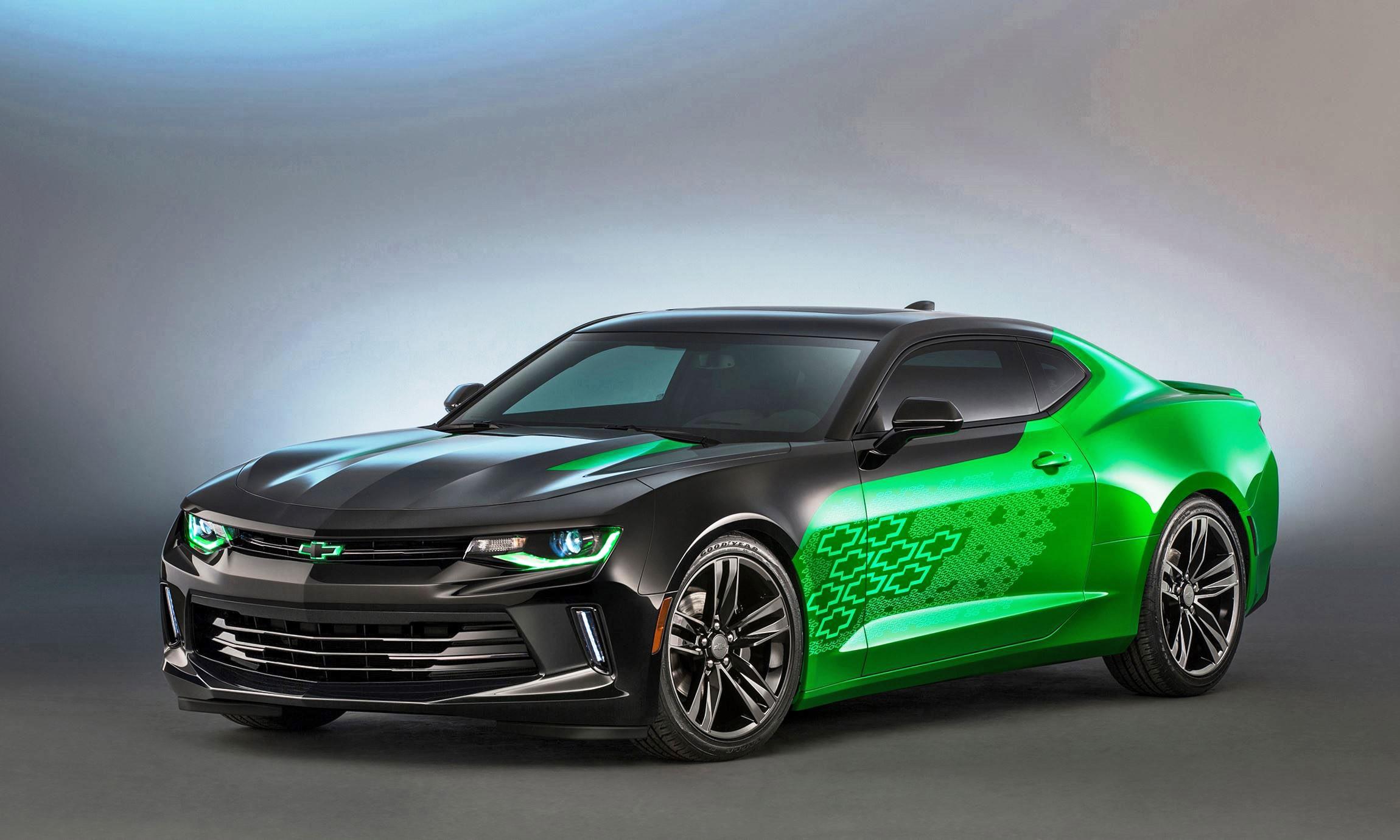 Chevrolet Latest Models >> 2016 Chevrolet Camaro COLORS