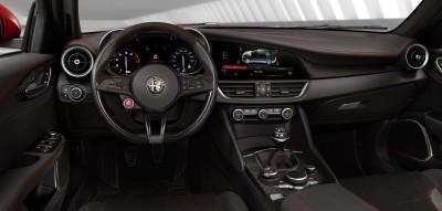 2016 Alfa Romeo GIULIA Interior 1