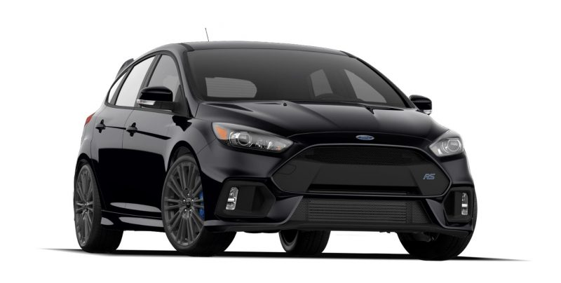 2016 Ford Focus RS Colors 1