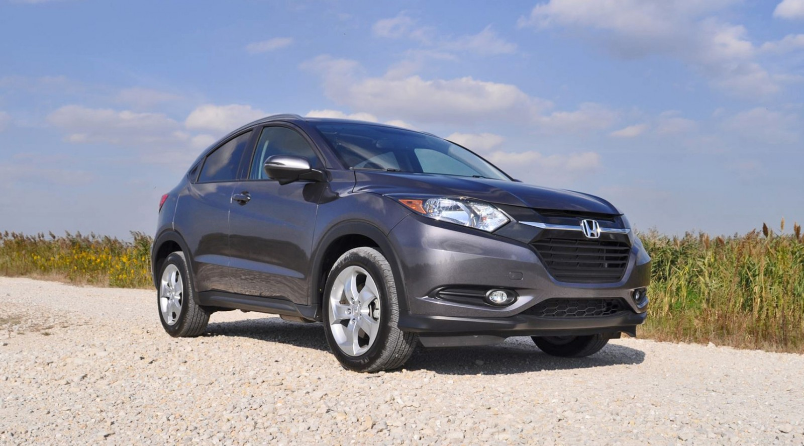 New First Drive Review  2016 Honda HRV  Looks Cool Drives Poorly