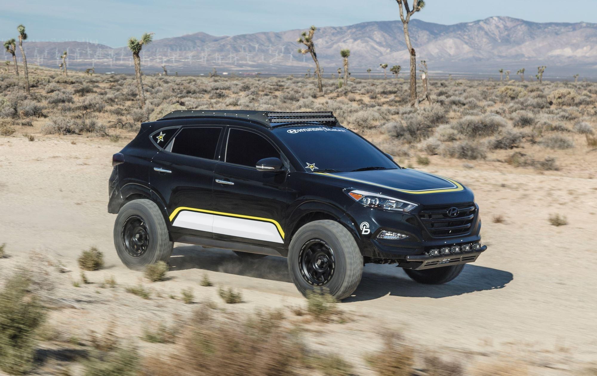 2016 Hyundai Tucson By Rockstar Performance Garage