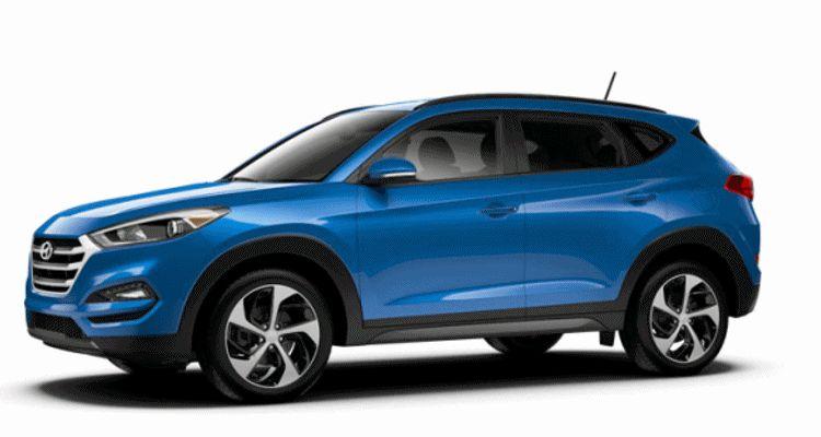 2016 Hyundai Tucson Colors - Caribbean Blue