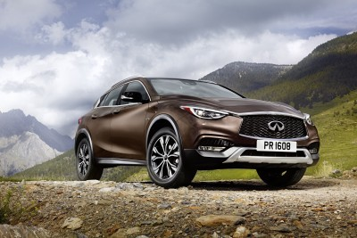 Created for a new generation of premium buyers who appreciate category-defying design inside and out, the Infiniti QX30 boasts a purposeful appearance that makes a bold visual statement as part of Infiniti's premium model line-up.