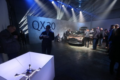 LOS ANGELES (Nov. 17, 2015) - The Infiniti QX30 premium active crossover made its global debut at the 2015 Los Angeles motor show - signaling the next phase of the company's global growth strategy.