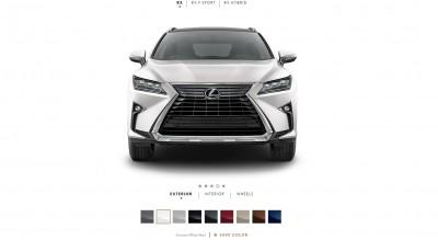 2016 Lexus RX Colors 2