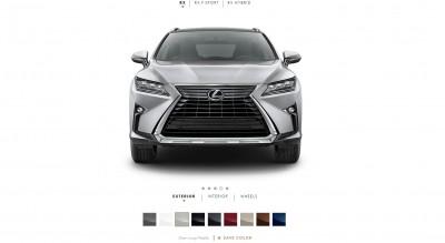 2016 Lexus RX Colors 3