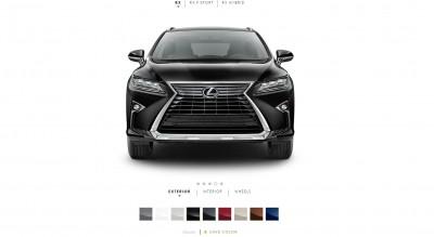 2016 Lexus RX Colors 4