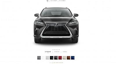 2016 Lexus RX Colors 5