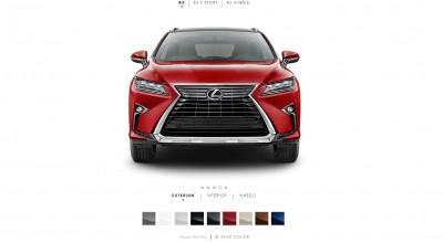2016 Lexus RX Colors 6