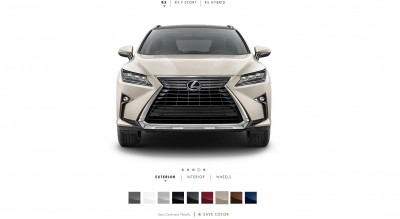 2016 Lexus RX Colors 7