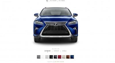 2016 Lexus RX Colors 9