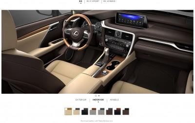 2016 Lexus RX interiors 1