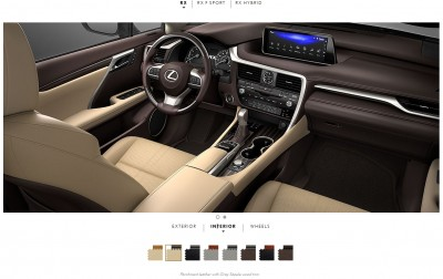 2016 Lexus RX interiors 2