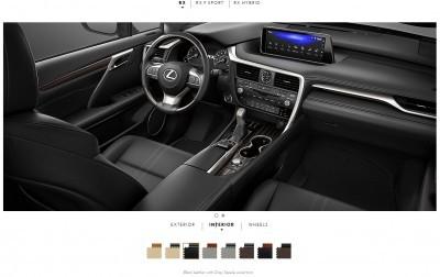 2016 Lexus RX interiors 3