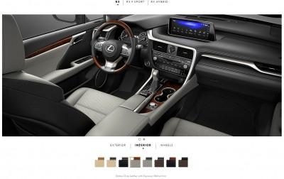 2016 Lexus RX interiors 4
