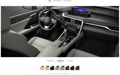 2016 Lexus RX interiors 5