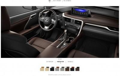 2016 Lexus RX interiors 6