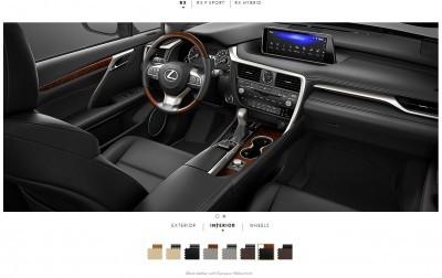 2016 Lexus RX interiors 7