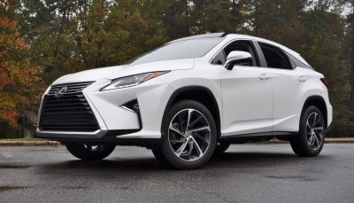 2016 Lexus RX350 - Eminent White Pearl 13