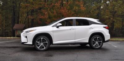 2016 Lexus RX350 - Eminent White Pearl 19