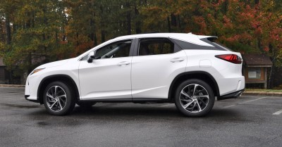 2016 Lexus RX350 - Eminent White Pearl 21