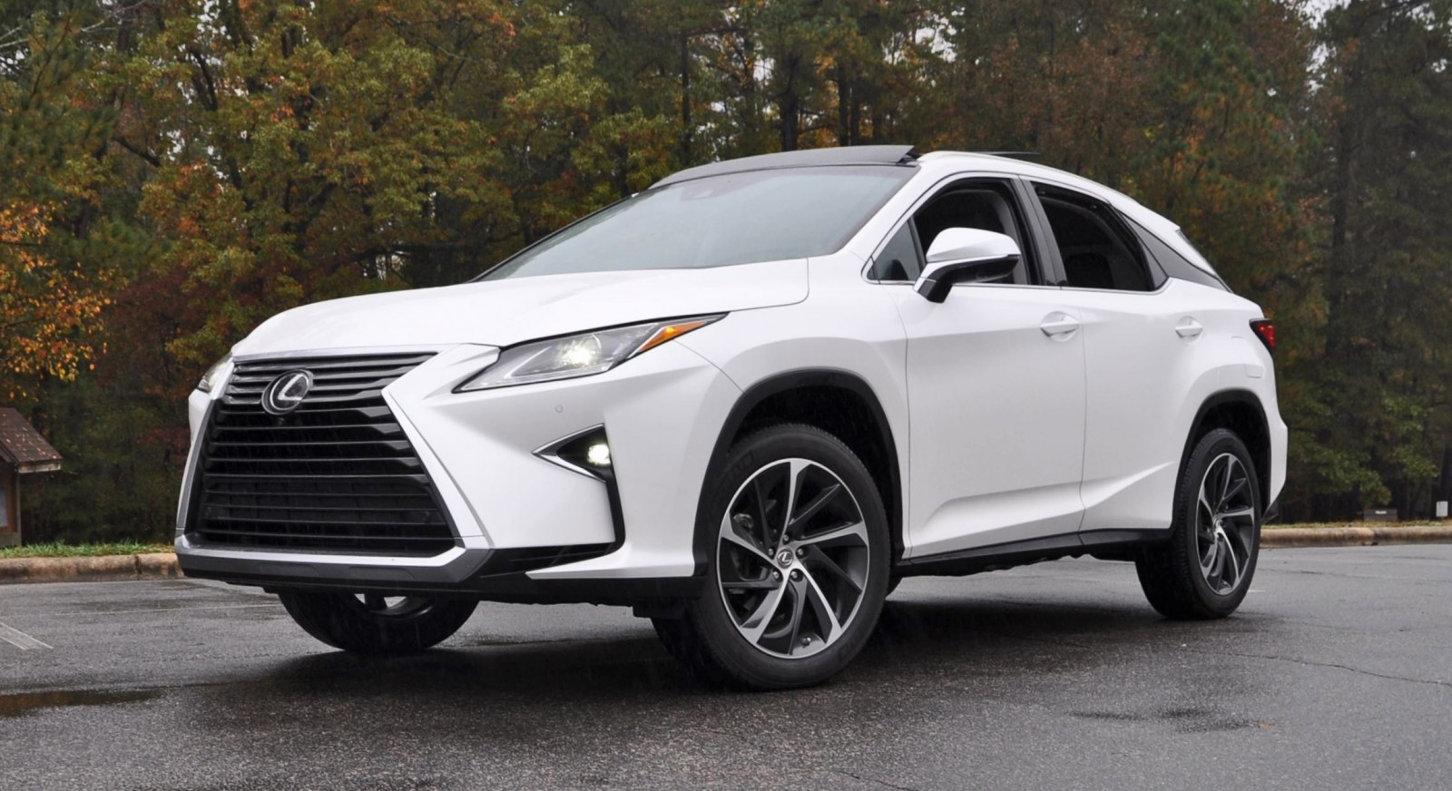 2016 Lexus Rx350 Eminent White Pearl 40