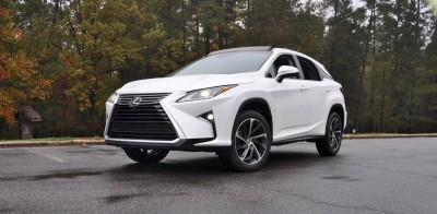 2016 Lexus RX350 - Eminent White Pearl 43