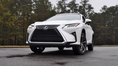 2016 Lexus RX350 - Eminent White Pearl 5