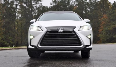 2016 Lexus RX350 - Eminent White Pearl 55