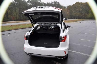 2016 Lexus RX350 Interior Noble Brown Sapele Wood 1