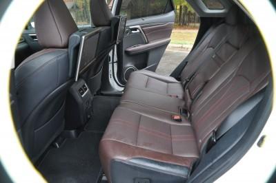 2016 Lexus RX350 Interior Noble Brown Sapele Wood 10