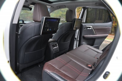 2016 Lexus RX350 Interior Noble Brown Sapele Wood 11