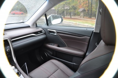 2016 Lexus RX350 Interior Noble Brown Sapele Wood 15