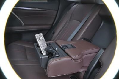 2016 Lexus RX350 Interior Noble Brown Sapele Wood 17