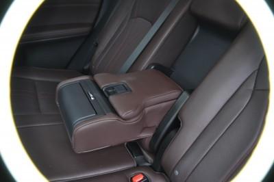2016 Lexus RX350 Interior Noble Brown Sapele Wood 18