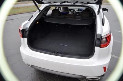 2016 Lexus RX350 Interior Noble Brown Sapele Wood 3