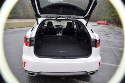 2016 Lexus RX350 Interior Noble Brown Sapele Wood 4
