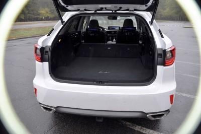 2016 Lexus RX350 Interior Noble Brown Sapele Wood 5
