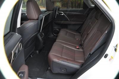 2016 Lexus RX350 Interior Noble Brown Sapele Wood 6