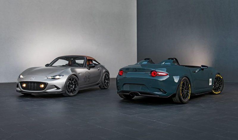2016 Mazda MX-5 Spyder Versus MX-5 Speedster Concepts 3