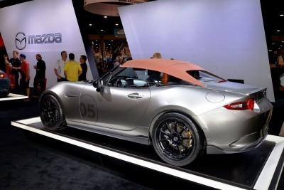 2016 Mazda MX-5 Spyder Versus MX-5 Speedster Concepts 34