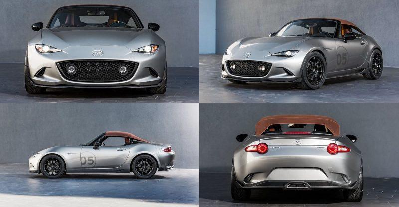 2016 Mazda MX-5 Spyder Versus MX-5 Speedster Concepts 7-tile